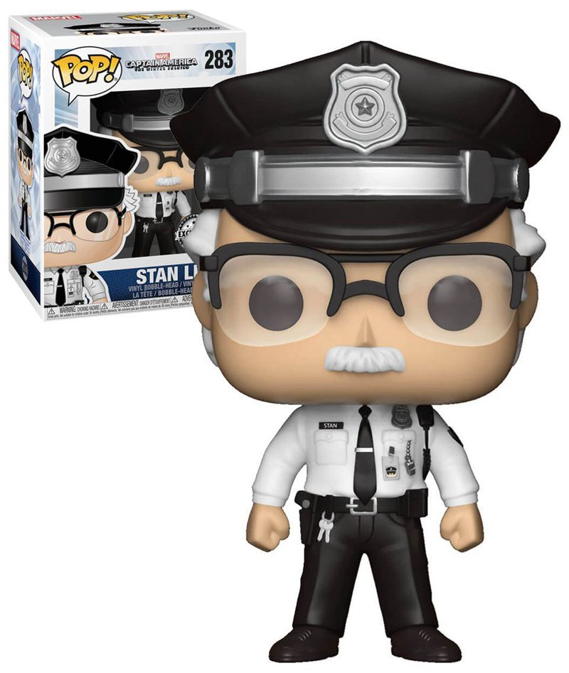 Exclusive FUNKO POP Official Captain America Stan Lee