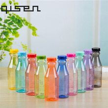 New Hot Sale Portable Leak-proof Bike Sports Unbreakable 550ml Scrub Plastic Water Bottle 10 Colors