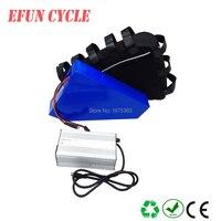 Для трекинга велосипед/горный велосипед/велосипед жира 60 в 23Ah литий ионный Электрический аккумулятор 60 в Высокое напряжение Большой треуго