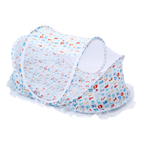 Baby Sleeping Folding Bed Belt The Infant Portable Soft Newborns Crib HandbagTravel Bag Multifunctional Pillow Mosquito