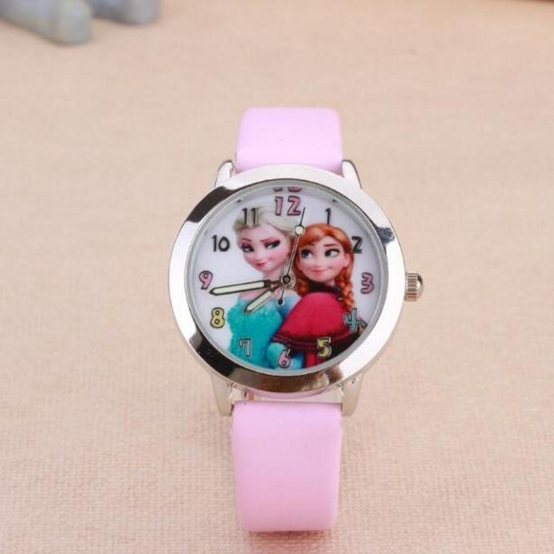 New Fashion Anna ELSA Watches Children Kids Boys Gift Watch Casual Quartz Wristwatch Feminino Montres Relojes Clock Kol Saati