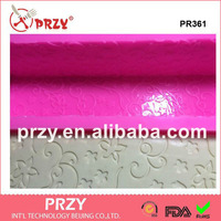All Sides With Flower Loaf Silicone Mold Best Sell Long Rectangular Silicone Soap Loaf Molds PR361