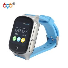 696 Smart watch Kids Wristwatch A19 3G WIFI GPS Locator Tracker Smartwatch Baby Watch With Camera For IOS Android Phone(China)