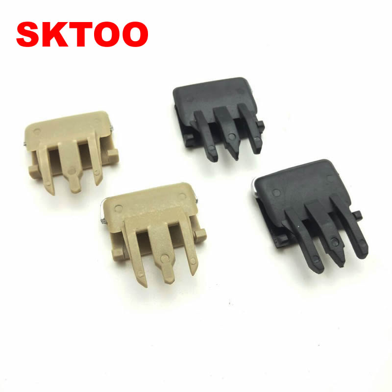 4Pcs/lot Black,Beige For Toyota Corolla Car Air Vent Louvre Blade Slice Conditioning Leaf Adjust Clips