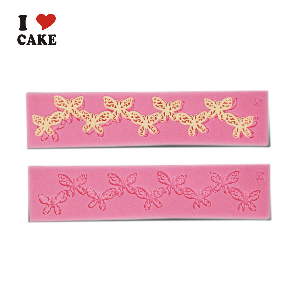 Cake Decorating Company Voucher Code : Butterfly Chain cake decorating tools wilton 3d silicone ...