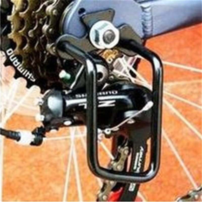 New Bike Protection Cover Bicycle Cycling Thicken 45# Steel Iron Bicycle Rear Derailleur Chain Guard Protector Free Shipping|protector guard|protector rear derailleur|protector chain - title=