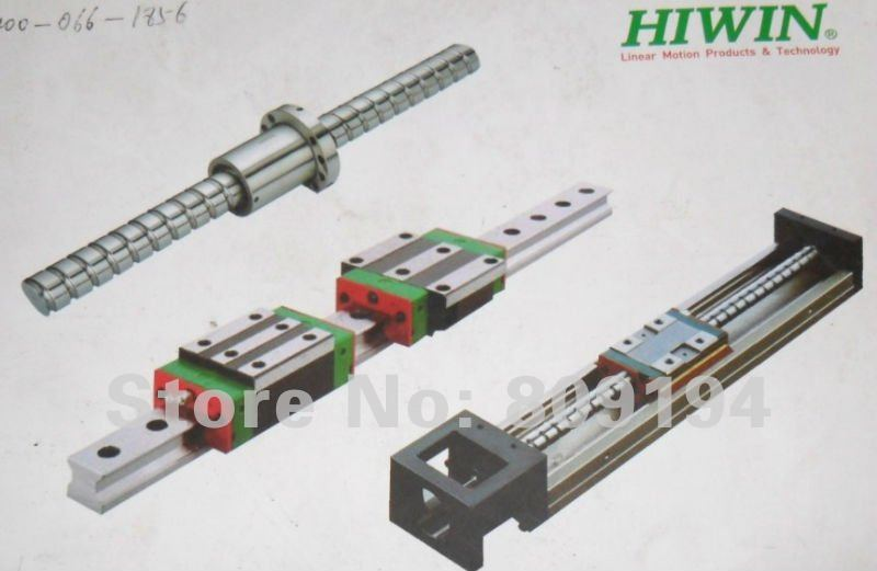 100% genuine HIWIN linear guide HGR15-350MM block for Taiwan 100% genuine hiwin linear guide hgr15 1100mm block for taiwan