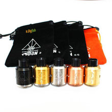 GOON 528 RDA 24 MM Vaporizer Rebuildable Dripping Atomizers with pin bottom feeder Best Quality RDA Tank for Box Mods(China)