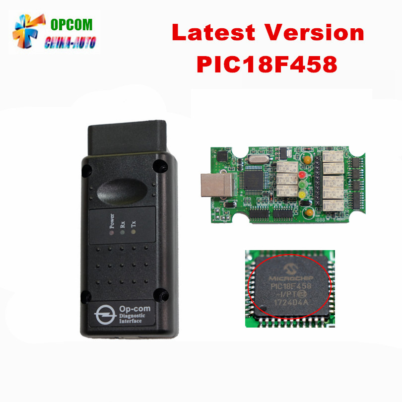 Newest V1 70 OPCOM with PIC18F458 chip OP COM obd2 for op el auto can bus