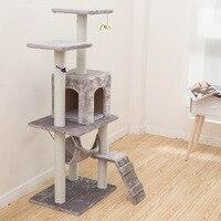 Товары для животных кошка игрушка восхождение рамки Cat Scratch доска дерево декоративное гнездо гамак 23 S туннель башня Бархат хорошее качество