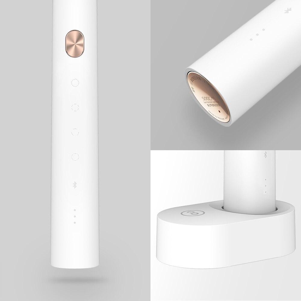 Xiao mi mi jia Brosse À Dents Soocare X3 X3s Soocas Amélioré Électrique Sonic Smart Bluetooth Étanche Sans Fil Charge mi Maison APP - 4