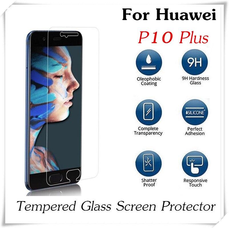 bilder für 20 stücke 2.5D 0,3mm Gehärtetem Glas Für Huawei P10 Plus Explosionsgeschützte P10 Lite Glas-schirm-schutz Anti-Splitter Schutzfolie