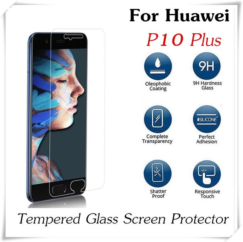 imágenes para 20 unids 2.5D 0.3mm P10 P10 Plus A Prueba de Explosiones de Cristal Templado Para Huawei Protector de Pantalla Anti-Añicos Lite Película protectora