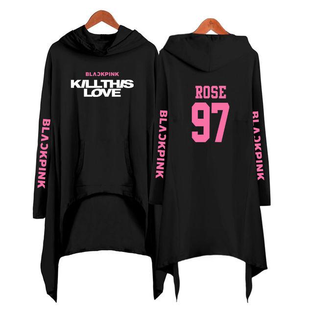 BLACKPINK KILL THIS LOVE HOODED DRESS (20 VARIAN)