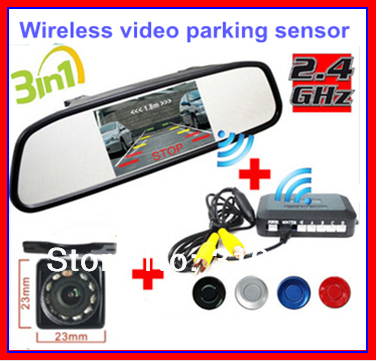 все цены на Wireless Car Rear view Kit 4.3