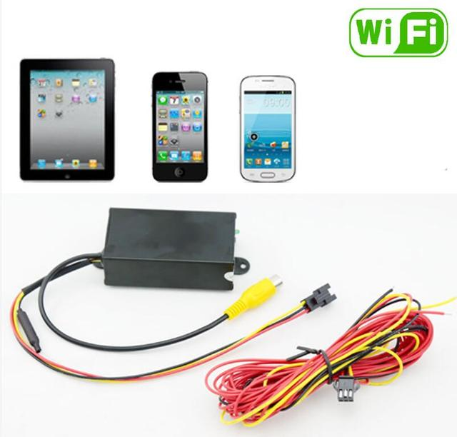 wifi backup reverse camera with RCA Jack system wireless android ...