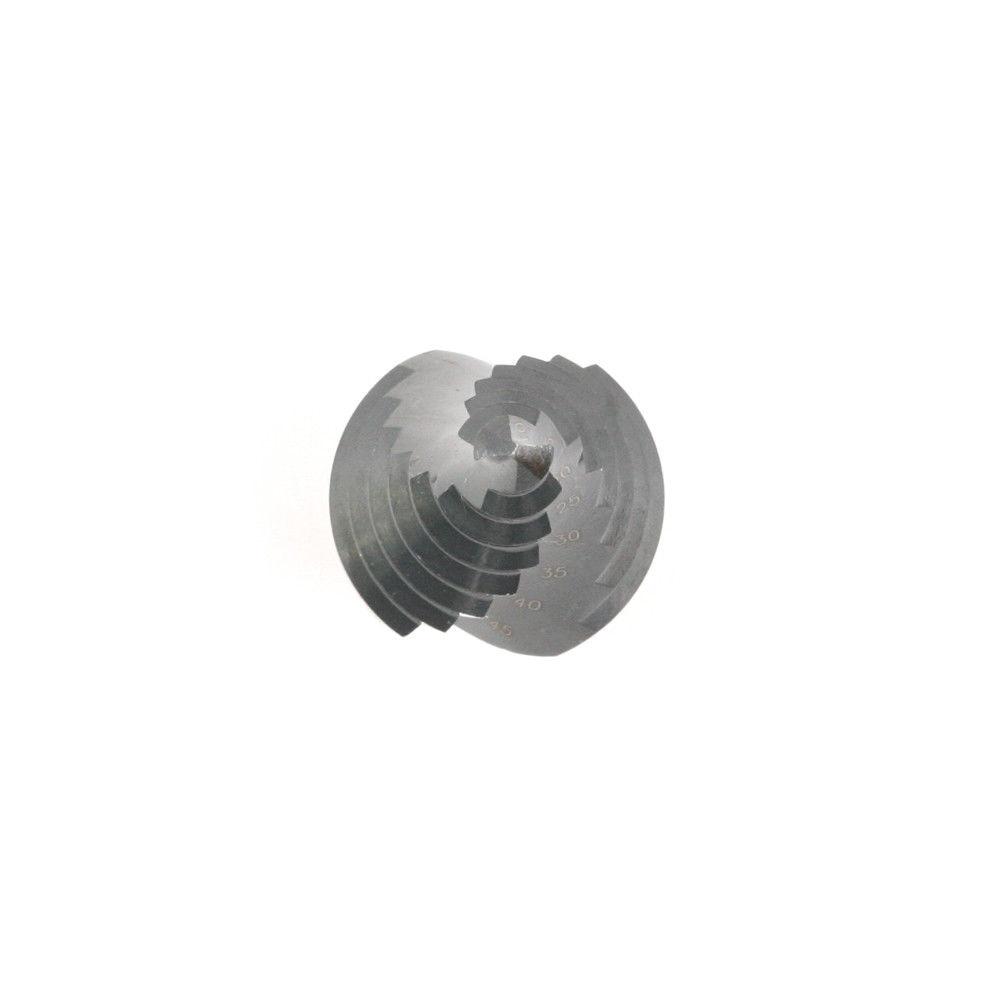 1 PCS 8 lépés 10-45 mm Nitriding létra spirálhorony fúró bit - Fúrófej - Fénykép 6