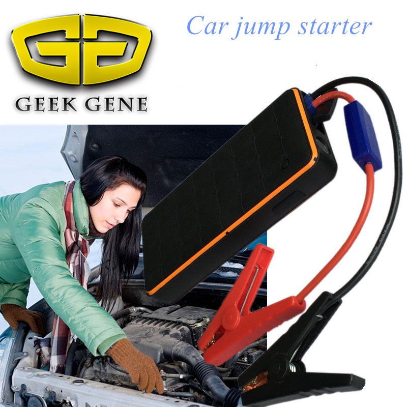 2018 Best quality Jump Starter 1000A Pack Power Bank 12V Portable Starter Charger Car Battery Booster Buster Starting Device practical 89800mah 12v 4usb car battery charger starting car jump starter booster power bank tool kit for auto starting device