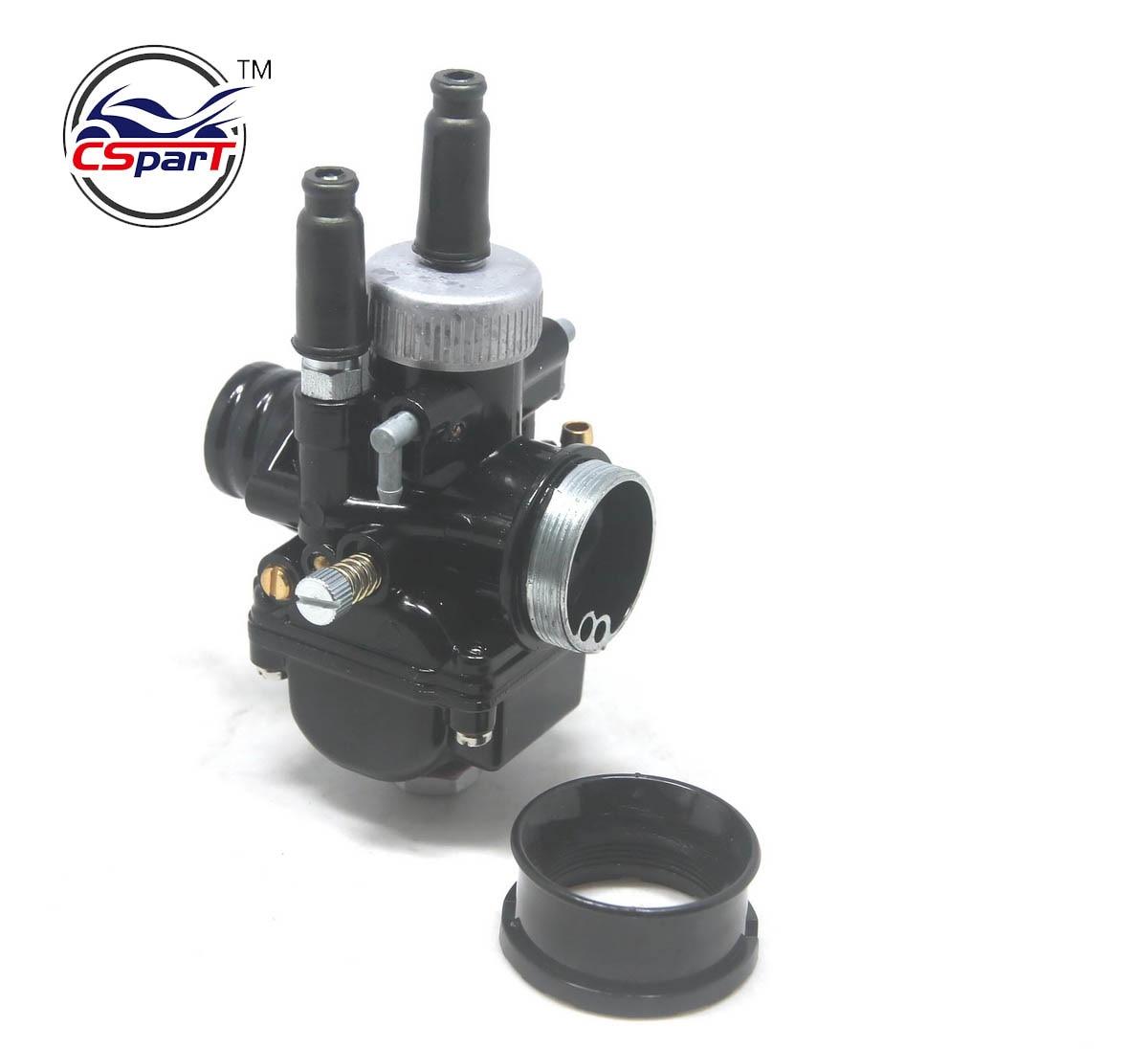 Black 17mm 19mm 21mm For Dellorto PHBG  DS Racing Carburetor Carb