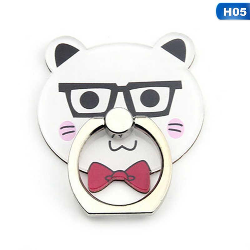 Mobil telefon standı Tutucu Parmak Yüzük Akıllı Telefon Sevimli Kedi Tutucu Standı Xiaomi Huawei Için Tüm Telefon
