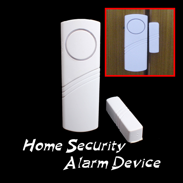 New Longer Door Window Wireless Burglar Alarm System Safety Security Device Home LCC77(China)