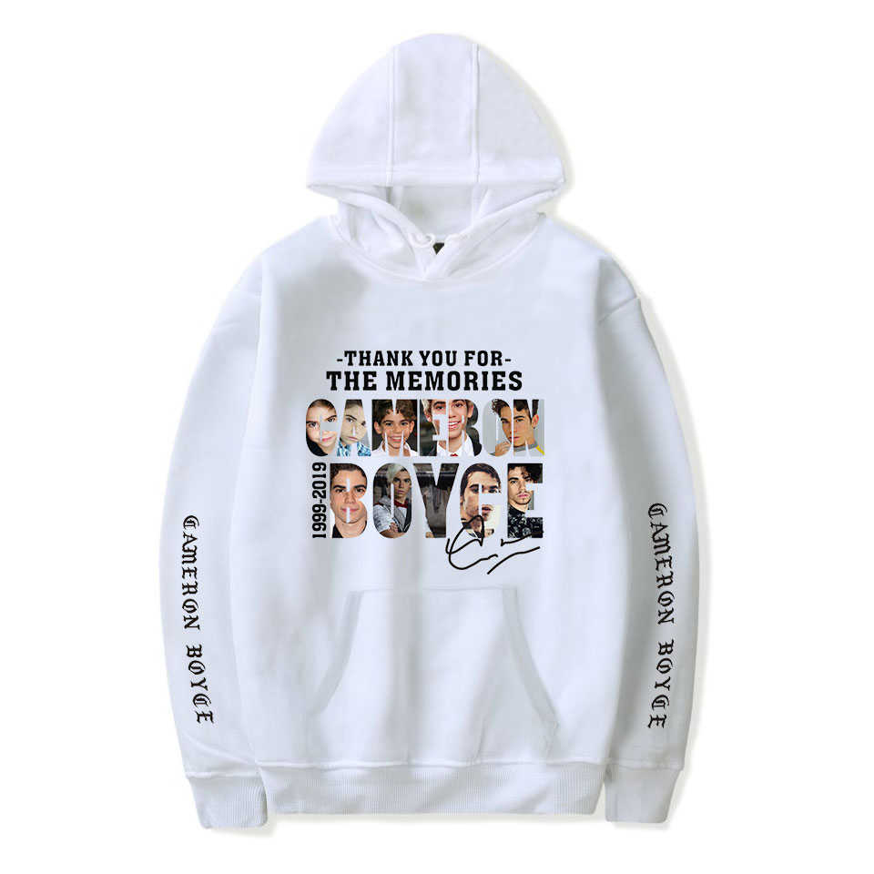 Cameron boyce Casual Fashion Things Women/Men Oversize Sweatshirt Ariana Grande Hoodies Sweatshirt XXS-4XL 2019 New