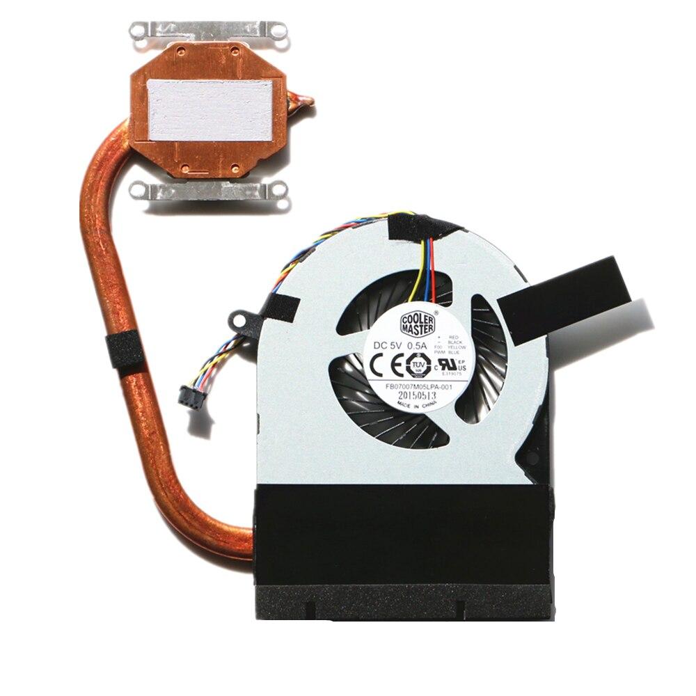 Новый вентилятор процессора для Toshiba C75D C75D-C Вентилятор охлаждения процессора с радиатором H000081470