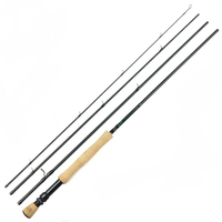 7Ft 2.1m #3/4 4 Sections Carbon Fly Fishing Rod Medium Fast Action Pesca Carp Rod Fishing Tackles