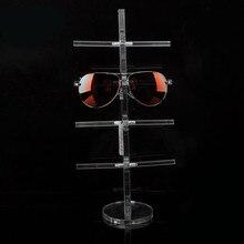 Classic Clear Acrylic Glass Display Holder Sunglass Display Rack Glass Show Stand