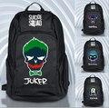 Джокер Suicide Squad Рюкзак Школа Книга Путешествия Сумка Хэллоуин Cospaly Рождество Подарок