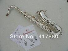 Suzuki Marke Tenorsaxophon Tropfen b Saxophon Tenor Oberfläche Silber Überzug KU-2000 Sax Professionelle Musikinstrument