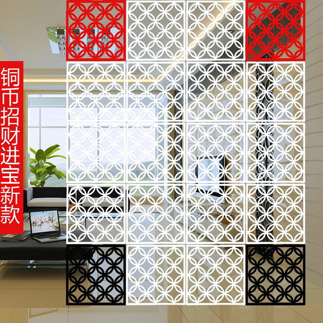 decorative screens for living rooms pictures room feng shui hanging partition wall shield fashion minimalist bedroom background personality foldable