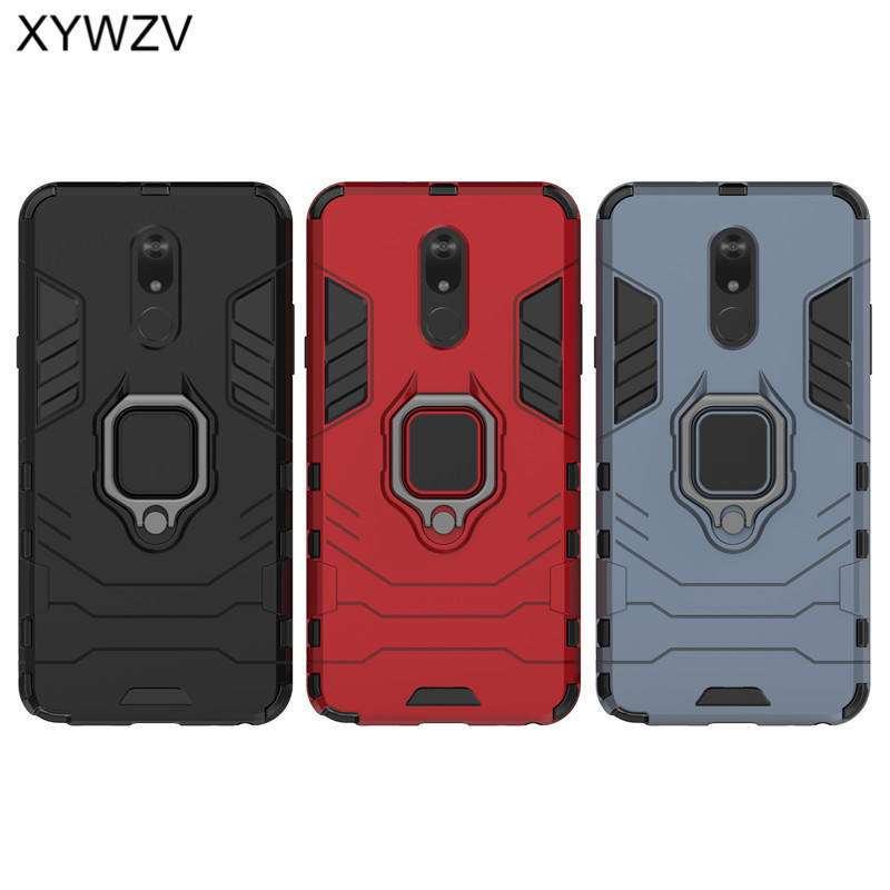 Image 5 - For LG Stylo 5 Case Soft Rubber silicone Hard Armor Metal Finger Ring Holder Phone Case For LG Stylo 5 Back Cover For LG Stylo 5-in Fitted Cases from Cellphones & Telecommunications