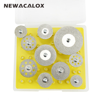 Mini Abrasive Disc Dremel Tools Accessories Wheels Cutting Disc Buffs Set Diamond Jewelry Gemstone Sanding Buffing