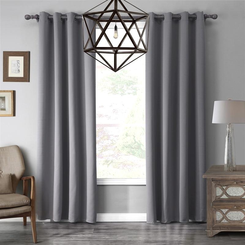 Achetez en gros gris rideaux en ligne des grossistes for Cortinas para dormitorio blanco
