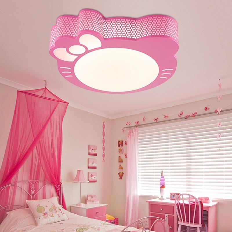 Modern LED Chandelier Lights Nordic Dining Room Lamp Children Iron Art Style