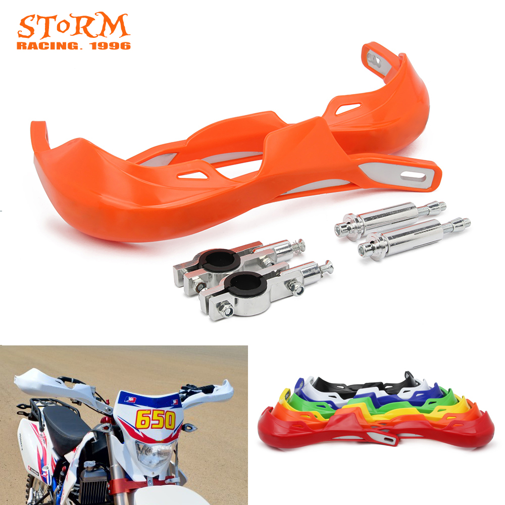 Image 2 - Motorcycle 22MM 28MM Handlebar Handguard Hand Guards Protector For KTM EXC XC XCW SX SXF CRF YZF WRF KXF KLX RMZ DRZ-in Falling Protection from Automobiles & Motorcycles