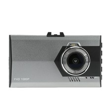 Ultra Delgada de 3.0 pulgadas Car Dash Cam Cámara DVR Vehículo Videocámara con Visión Nocturna/G-sensor/Motion detección