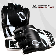 Hot sale pro style MMA gloves half finger grappling fighting Sparring Glove Training kick boxing gloves mix Martial arts gloves