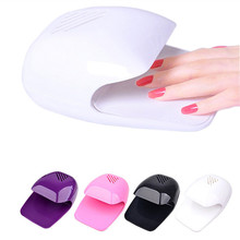 Mini Nail Art Air Dryer Polish Portable Glue Dry AA Battery Fan Tools Drier Fast Drying Machine Travel