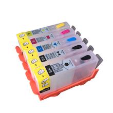 5pcs 178 178XL ink  refillable ink cartridge For HP Photosmart D5400 D5463 C6380 C6300 C5300 C5383 C5380 C6383 D5460 printer