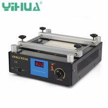 YIHUA 853A 220V Digital Display Preheating Station Soldering Station PCB Preheater BGA Rework Welding Station Desoldering Tool цена 2017