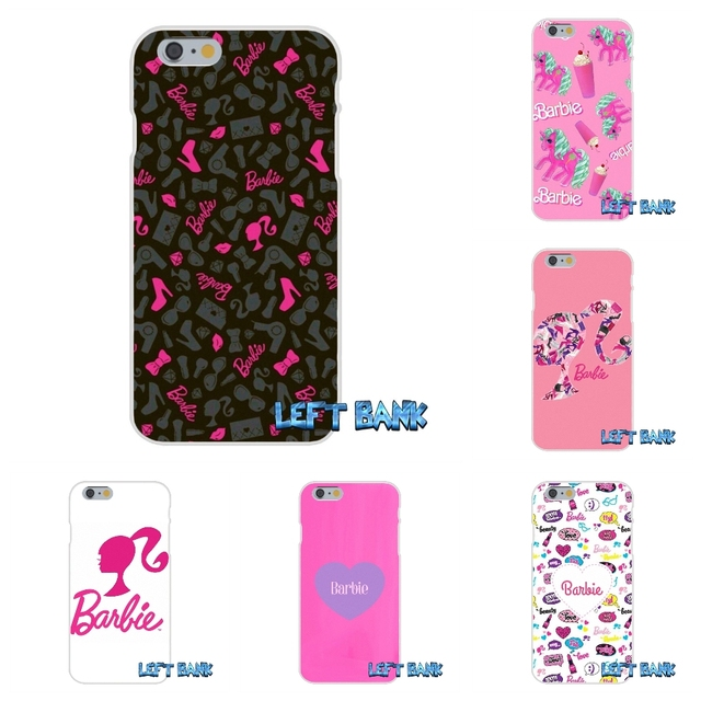 Kawaii Pink Barbie Art Wallpaper Soft Silicone Cell Phone Case Cover