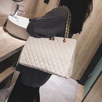FEMALEE Chain Large Shoulder Bag Women Travel Bags Patent Leather Luxury Handbags For Women Brand Tote Designer Sac A Main Femme