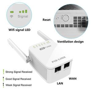 Image 5 - PIXLINK 1200/5 ghz 2.4 mb/s, répéteur sans fil, amplificateur de Signal Internet, couverture complète