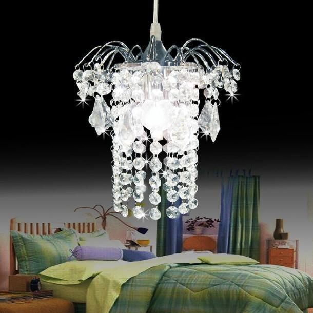 ФОТО Mini bar  crystal pendant lights, chrome finish, free shipping