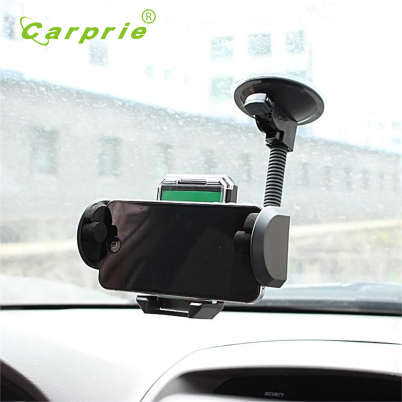 Mount Holder Universal 360 Rotating Car Windshield Stand Bracket for CELL Phone Car phone holder drop shipping jun6