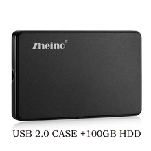 "zheino 2.5"" IDE/PATA 100GB Hard Drive for Laptop IBM DELL D610 D810 inspiron 9300 For IBM X31 X32 T41 T43 T43P R51 V80 R60(China)"