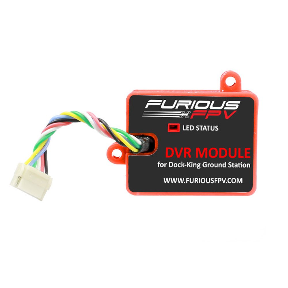 FuriousFPV DVR Module For Dock-King Ground Station