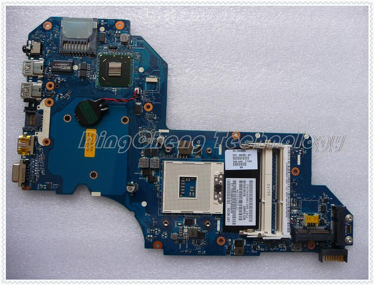 SHELI laptop Motherboard For hp M6 M6-1000 698395-001 LA-8713P for intel cpu with integrated graphics card nokotion 687229 001 qcl51 la 8712p laptop motherboard for hp pavilion m6 m6 1000 hd7670m ddr3 mainboard full tested